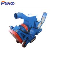 China Mobile Road Floor Shot Blast Concrete Machine High Efficiency For Highway Surface Cleaning on sale