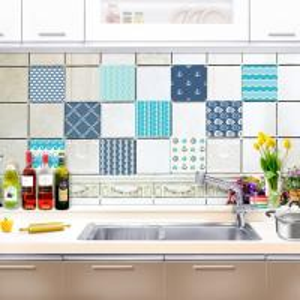 China Self adhesive Kitchen Sticker Waterproof Removable on sale