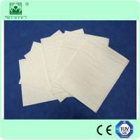 Buy cheap Hospital doctor use Disposable wood pulp white surgical hand towel from Wholesalers