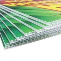 China COROPLAST / CORRUGATED  SIGN PRINTING on sale
