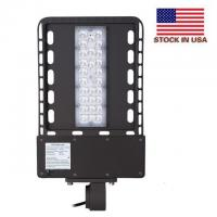 Wholesale IP65 Outdoor Led Parking Lot Lights UL Dlc 4.2 Universal Adapter Aluminum / PC Shell from china suppliers