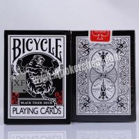 Buy cheap Black Tiger Ellusionist Plastic Marked Poker Cards Side Barcode For Poker Analyzer from Wholesalers