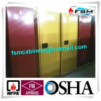 Wholesale 60 GAL Industrial Safety Cabinets , Safety Storage Cabinets For Flammable Liquids from china suppliers
