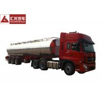 Wholesale Food Grade Milk Tank Trailer Dual Line Brake System Automatic Flux Valve from china suppliers