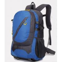 Backpack with 420D diamond polyester fabric , suitable for traveling,camping,hiking