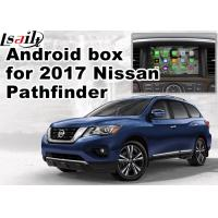 Wholesale Nissan Pathfinder Andorid Car Multimedia Navigation System , Online Navigation Video Play from china suppliers