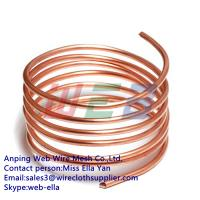 China copper spring wire / red copper spring wire on sale