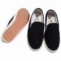 Wholesale Hot Men's Hand Sewed Espadrilles, Canvas Upper, Various Sizes and Models Available from china suppliers
