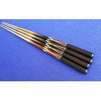 China Brass ferrule  hand made inlay  brass joint rosewood butt 2 piece snooker cue  on sale