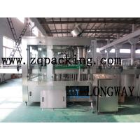 Wholesale BEER Machine Aerated beverage wash-filling-sealing 3-in-1 from china suppliers
