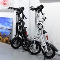 easy rider two wheel fold away electric scooter adult. Black Bedroom Furniture Sets. Home Design Ideas