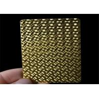 Wholesale Durable Waterproof Luxury Custom Poker Playing Cards With Customized Box from china suppliers