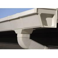 Wholesale Vinyl Rain Gutters Plastic PVC Rain Gutters Pipes OEM For Roof from china suppliers
