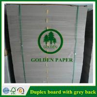 China Duplex board with white back on sale