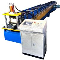 Wholesale Water Gutter Rolling Forming Machine Dx51 Half Round 8 - 10m / Min Speed from china suppliers