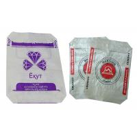 China 50 Kg Block Bottom Woven Polypropylene Sacks For Cement Easy To Use on sale