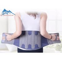 Buy cheap Breathable Adjustable Lower Back Brace for Back Spine Pain Waist Back Support Belt from wholesalers