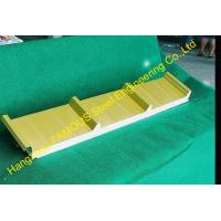 China Light Weight Construction EPS Sandwich Panels Roofing For Cold Room on sale