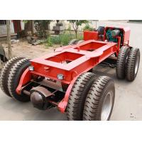 Wholesale Multi Axle Hydraulic Flatbed Trailer 5 - 200 Ton For Bridge Transport from china suppliers