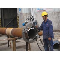 Wholesale Hydraulic Split Frame Pipe Cutting And Beveling Machine Chamfering Machine Longer Life from china suppliers