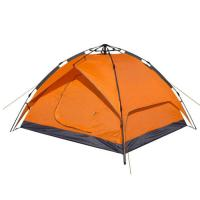 Wholesale Hot sale 2 person waterproof windbreak orange double layer camping tent equipment for outdoor from china suppliers
