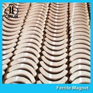 Custom Industrial Ceramic Ferrite Magnets Arc Shaped Y25 Y30 Y30BH Y35 Grade