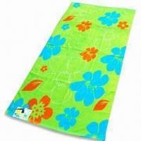 China Beach Towel in Child Design, Measures 60 x 120cm, Weighs 300gsm on sale