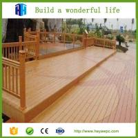 Wholesale HEYA wpc composite playground fences field fence manufacturing plant from china suppliers