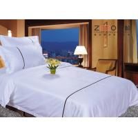 Wholesale Double Size And 120GSM 250TC With Cotton Hotel Style Bedding Sets For 4 Star from china suppliers