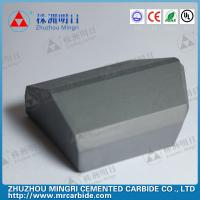 China Cemented carbide shield cutter YG15C Grade TBM technology on sale