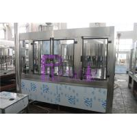 PLC Control 3 In 1 Water Filling Machine SUS304 With Screw Cap