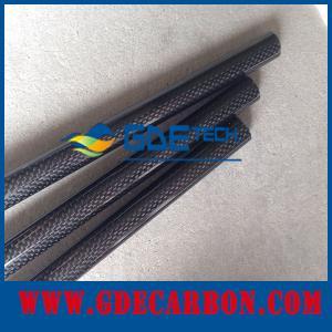 carbon fiber tube,3K twill matte carbon fiber tube 3mm thickness