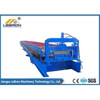 China Steel Roof Sheet Forming Machine Long Time Service For Metal Floor Decking Sheet on sale