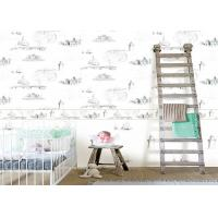 Wholesale 0.53*10m / Roll Kids Bedroom Wallpaper , House Pattern Children'S Room Wallpaper from china suppliers