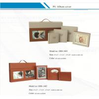 Quality Customized  Leather Album Cover with Suitcase /  PU Album Covers for sale