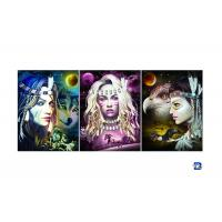 Wholesale Film Lamination Lenticular Flip , 3D Triple Transition Lenticular Poster 12x17 Inches from china suppliers