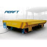 Wholesale Motorized Flat Bed Transport Wagon , Industry Transfer Rail Automated Guided Vehicles from china suppliers