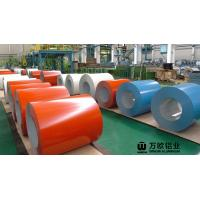 Wholesale 900-1500mm Width Coil Coated Aluminium For Construction And Decoration from china suppliers