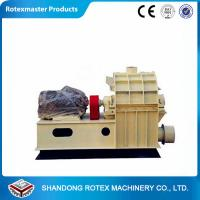 China Gold Wood Sawdust Hammer Mill Grinder With Cyclone , Small Grinding Mill on sale