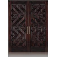 Wholesale Carved solid wood door&double opened outside door from china suppliers