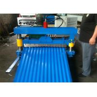 China Hydraulic 850 Cold Roll Forming Machine Wave Profile , PPGI/GI Steel Metal Sheet on sale