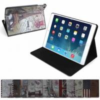 Buy cheap Non - toxic Stand PU Leather Folio Protective Ipad Case Cover For Ipad Mini 3 from wholesalers