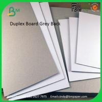 Quality Grade AA One Side White C1S With Grey Back Coated Duplex Board for sale