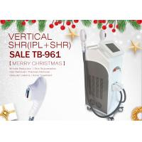 Buy cheap Salon Use 2 Handles IPL SHR Laser Hair Removal Acne Treatment Beauty Machine from wholesalers