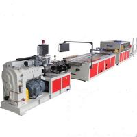 Buy cheap Wall Panel Production PVC Profile Extrusion Line / WPC Profile Extruder Making from wholesalers