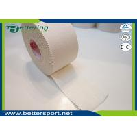 Buy cheap 5cm White colour Latex free zinc oxide athletic rigid strapping tape viscose from wholesalers