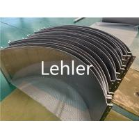 Wholesale Wedge Sieve Bend Screen 0.15mm Slot SS316L For Dewatering / Drying Equipment from china suppliers