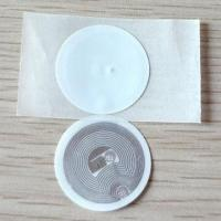 Wholesale PVC Disc Tags with Adhesive Paper with 125kHz and 13.56MHz Frequency  from china suppliers