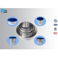 IEC60335 Unpolished Aluminium Standard Cooking Vessels for  Hotplate with Lid