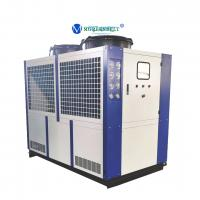 Buy cheap Copeland Compressor 30 tons Air Cooled Water Chiller for Plastic Injection from wholesalers